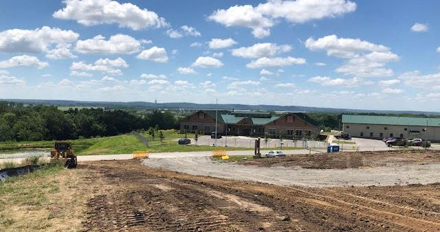Animal Shelter construction project progress July 15, 2019 b