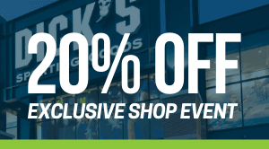 Dick's Sporting Goods shop event