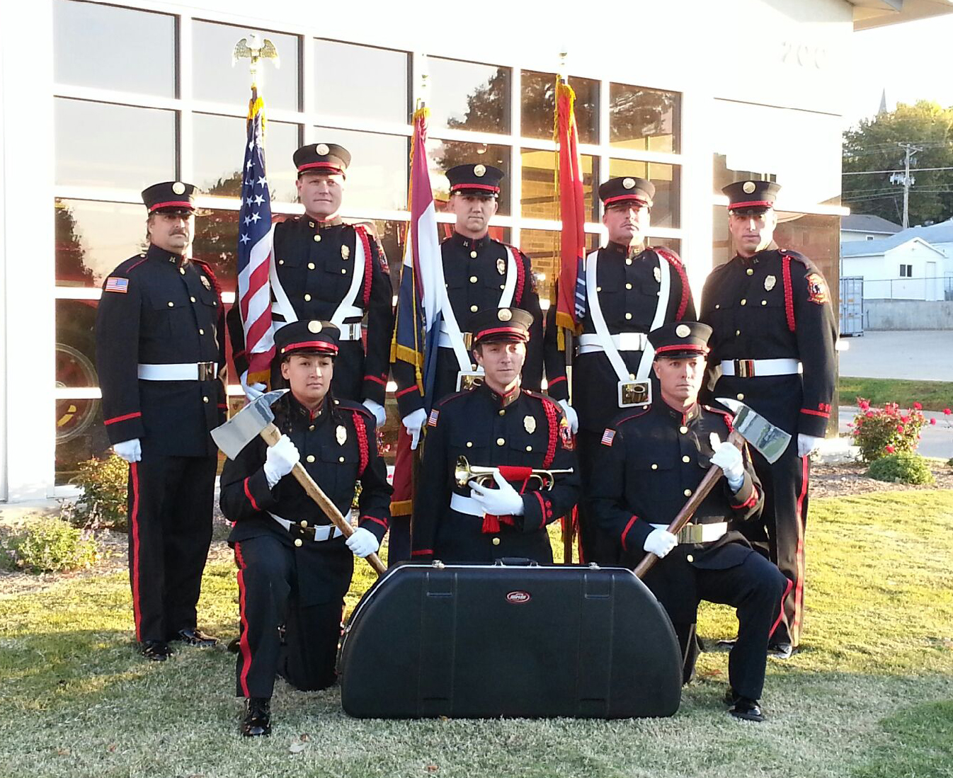 Liberty Fire Department Honor Guard