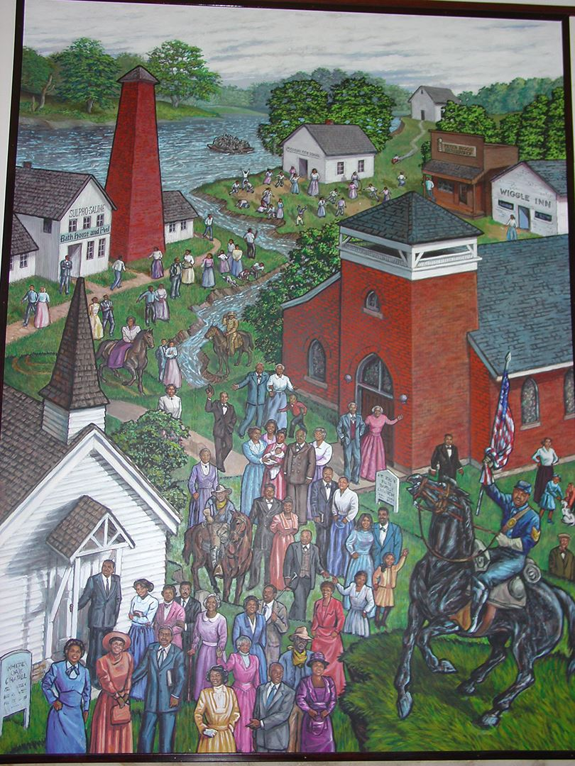 Clay County Administration Building Murals 2