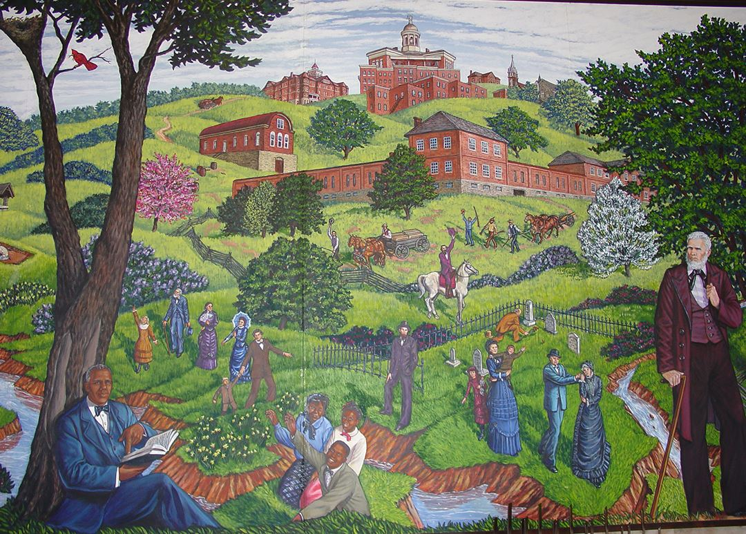 Clay County Administration Building Murals 7